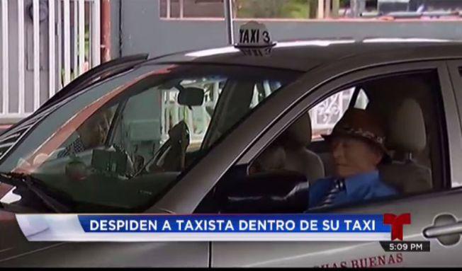 Velatorio sobre ruedas: Velan muerto dentro de su taxi