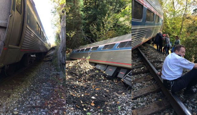 Se descarrila tren AMTRAK en Vermont