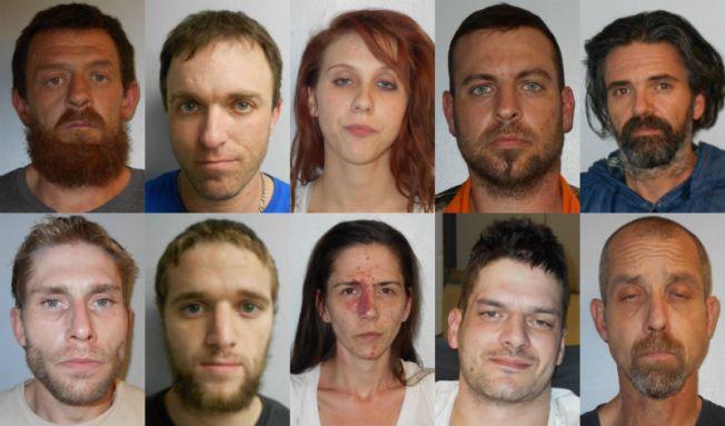 Arrestados por venta de metanfetamina