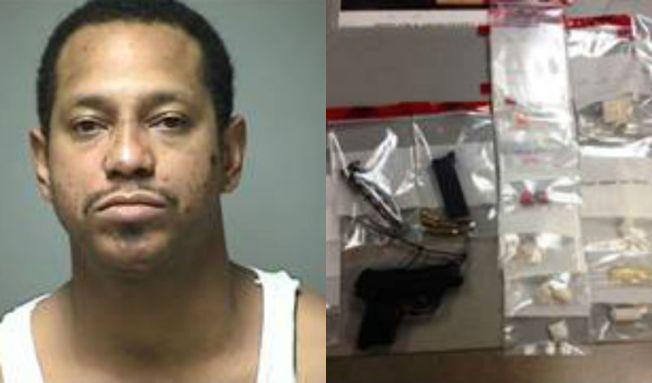 Arrestado por drogas y armas en intervención de tránsito