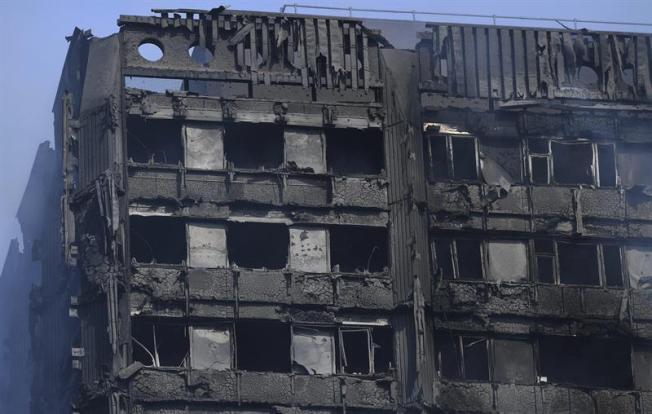 Descartan terrorismo en incendio en Londres
