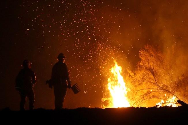 Guardia Nacional de California ayudará con incendios