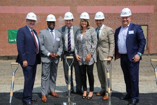 Lanzan construcción de NBCUniversal Boston Media Center