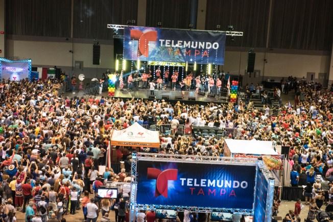 Telemundo celebró la Herencia Hispana durante Feria Telemundo 49