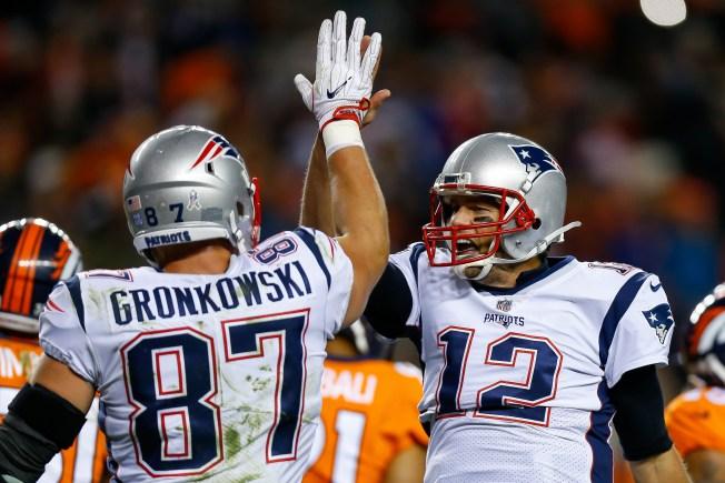 Brady y Gronk no asisten a entrenamientos de los Patriots