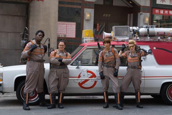 Revelan nueva foto de las 'Ghostbusters'
