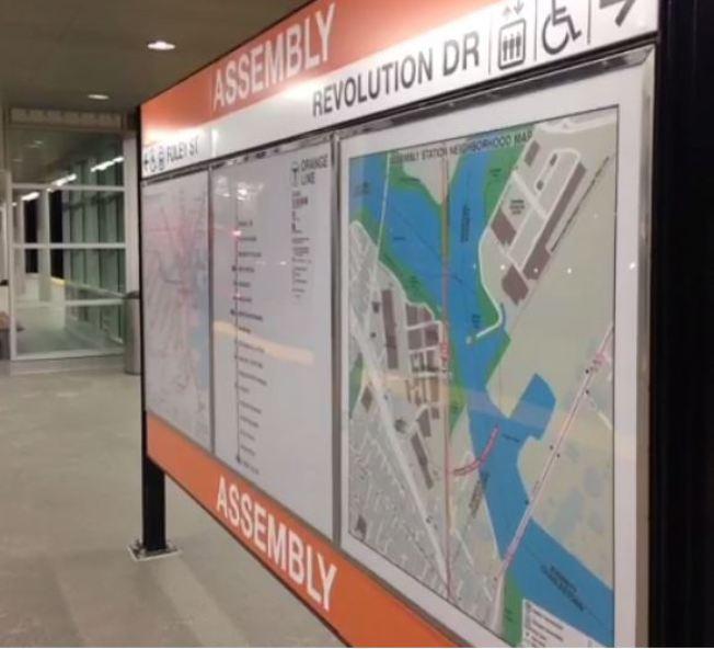 Nueva estación del MBTA en Somerville