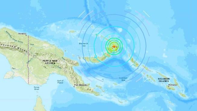Poderoso terremoto en Papúa Nueva Guinea: no hay heridos; evalúan posibles daños