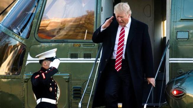 Trump ha pasado un tercio de su presidencia en sus propiedades