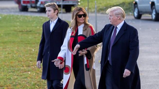 Trump ya está en Mar-a-Lago para celebrar Acción de Gracias