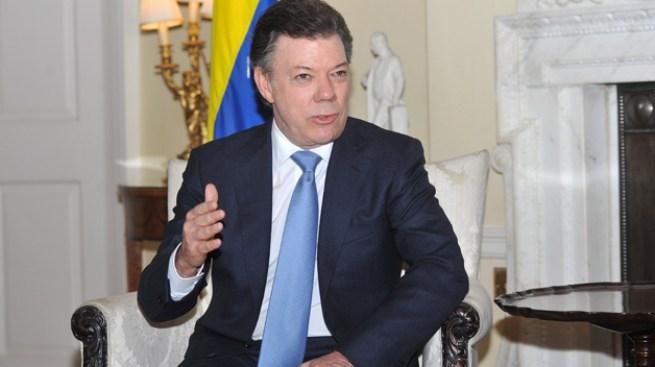 Con cáncer Juan Manuel Santos