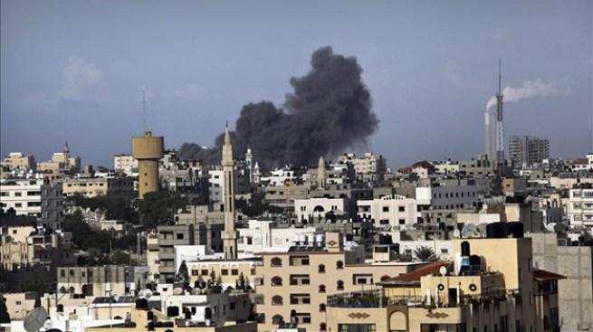 Sexto día de bombardeos