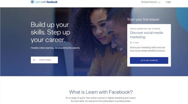 Facebook lanza cursos online para ayudarte en tu carrera