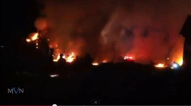 Indianapolis sufre incendio