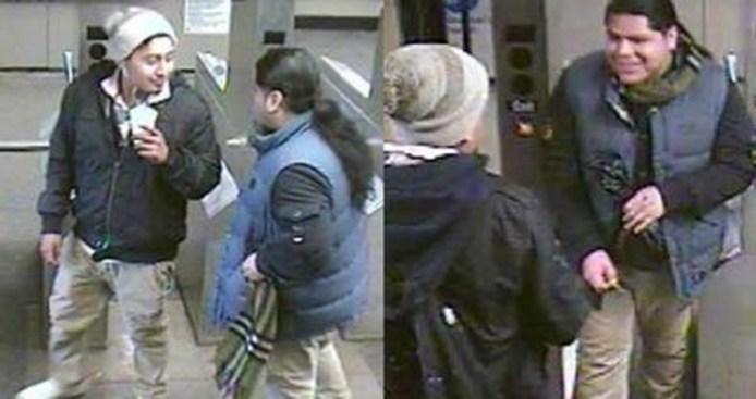 Golpean y roban a hombre en plataforma del subway