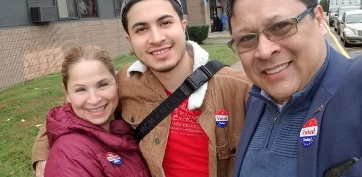 Electores comparten sus fotos de votaciones en Nueva Inglaterra