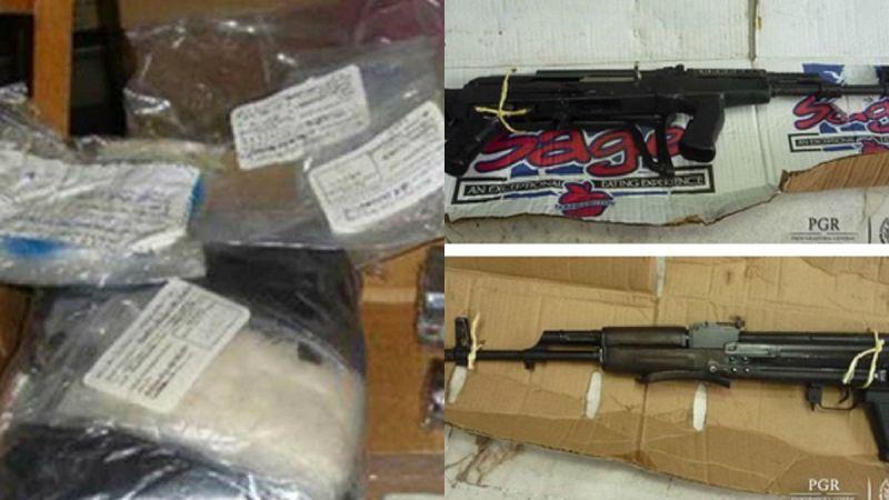Aseguran arsenal en Jalisco; se investiga si fue utilizado en ataque a policías el Puerto Vallarta Decomiso-arsenal-jalisco
