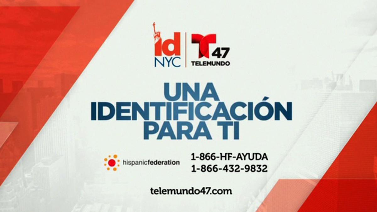ID NYC ¡Una identificación para ti! - Telemundo New York